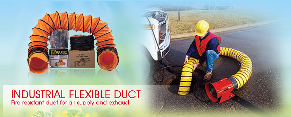 Flexible Duct Portable Ventilator Tunnel Amp Mining Duct Air